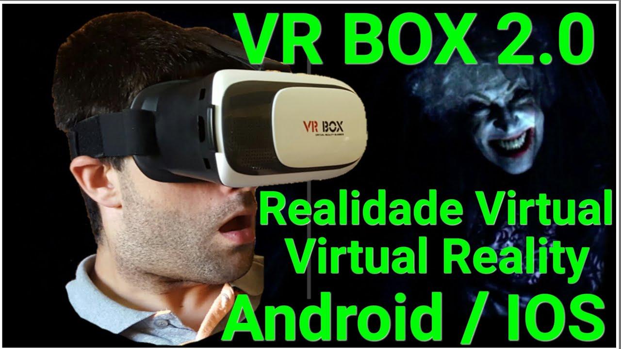 e2ef10c5f Realidade Virtual Óculos VR BOX 2.0 ( 2ª Geração ) em PORTUGUES - ( VR BOX  2.0 VR Glasses )
