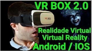 Realidade Virtual Óculos VR BOX 2.0 ( 2ª Geração ) em PORTUGUES - ( VR BOX 2.0 VR Glasses )(, 2016-06-07T15:26:04.000Z)