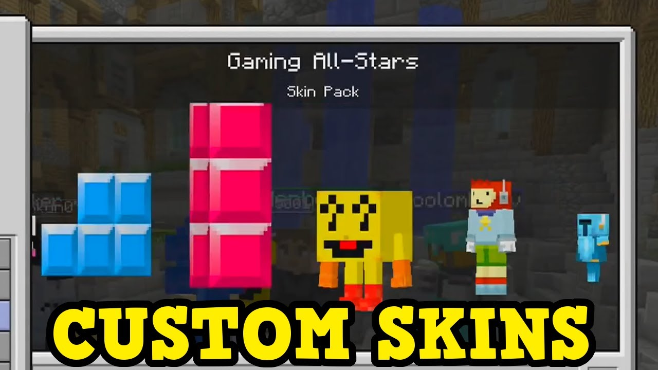 Minecraft Console - CUSTOM SKINS GAMEPLAY (& Why It Won't ...