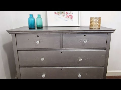 Ролик How To Update An Antique Piece Of Furniture - DIY Home Tutorial - Guidecentral