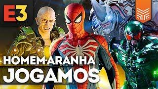 JOGAMOS HOMEM-ARANHA DE PS4