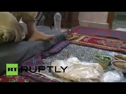 Syria: Footage shows impact of conflict on these Aleppo residents