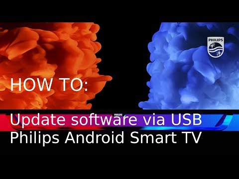 How to update software over USB - Philips Android Smart TV [2017] thumbnail