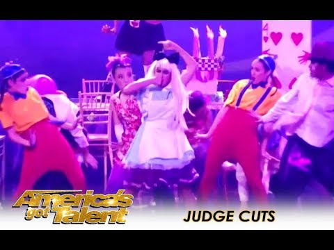 PAC Dance Team: High-school Group WILD Act Divides The Judges | Americas Got Talent 2018