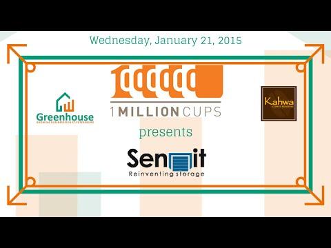 1 Million Cups: Sennit, January 21, 2015