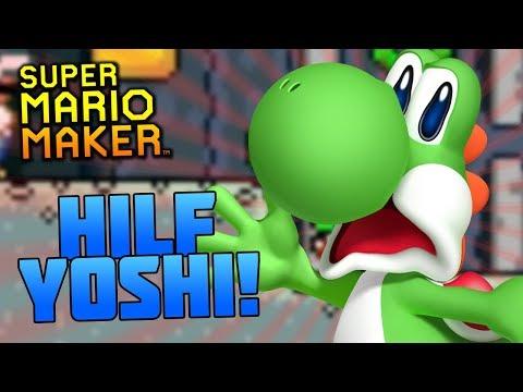 Super Mario Maker: Hilf Yoshi & besiege Bowser!   MineZoneGermany