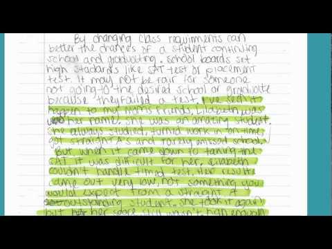Argument Essay: Using Personal Experiences