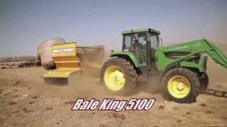bale king 5100 6105 8100 bale processors