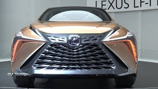Lexus LF1 Limitless Concept - Exterior And Interior Walkaround - 2018 Detroit Auto Show