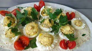 Smaczny przepis na jajka. Pomysł na śniadanie. Jak zrobić jajka faszerowane w śmietanie