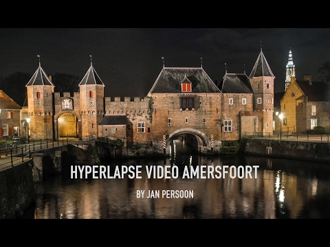 Hyperlapse video of Amersfoort · Beautiful city in the Netherlands