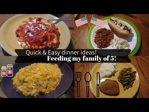 What's For Dinner? Cheap Meals For A Family Of 5!