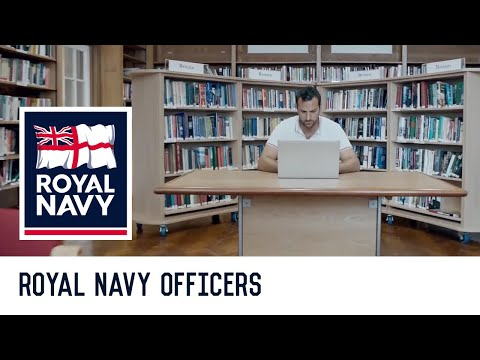 Royal Navy Officer - The only limit is your ambition.