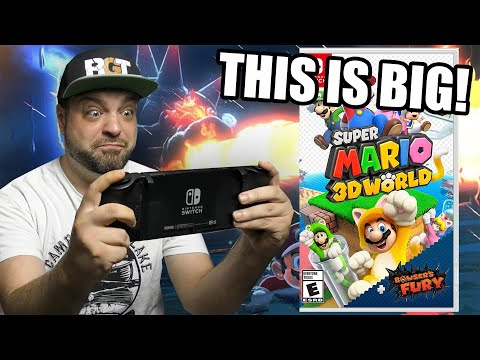 Super Mario 3D World + Bowser's Fury Is NOT What You Expected.....