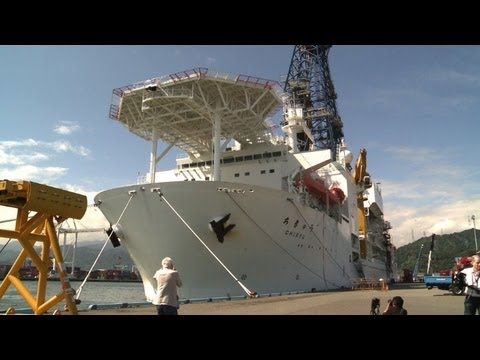 Japan deep sea drilling boat seeks origin of earthquakes