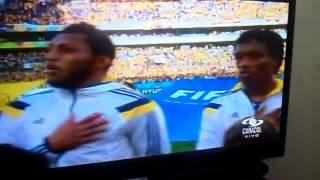 Himno de colombia contra japon