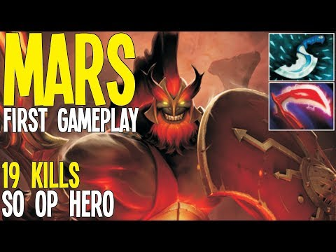 Mars First Gameplay This Hero Is OP   Dota 2 Pro Gameplay thumbnail