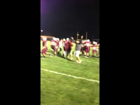 Video: Madison La Follette celebrates game-clinching fumble recovery vs. West
