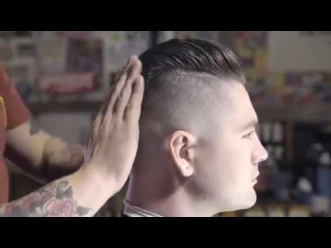 How to Cut \u0026 Style a Messy Undercut Slick Back by Uppercut Deluxe , YouTube