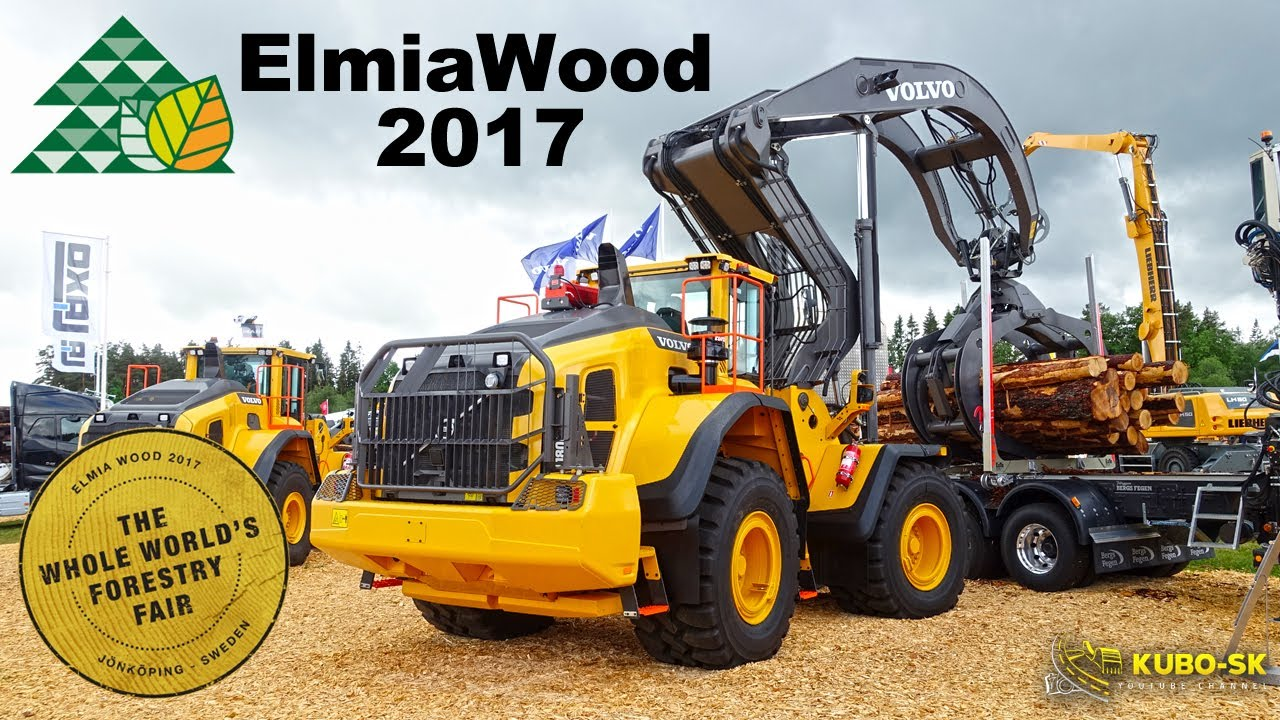 ELMIA WOOD 2017 | The world's largest forestry fair | My trip to
