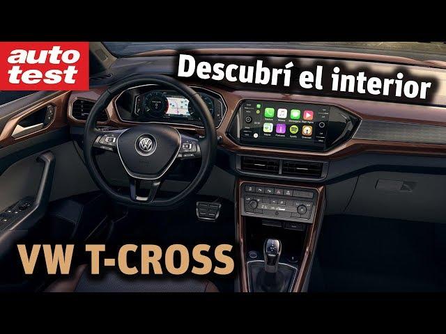 Al detalle: el interior del VW T-Cross