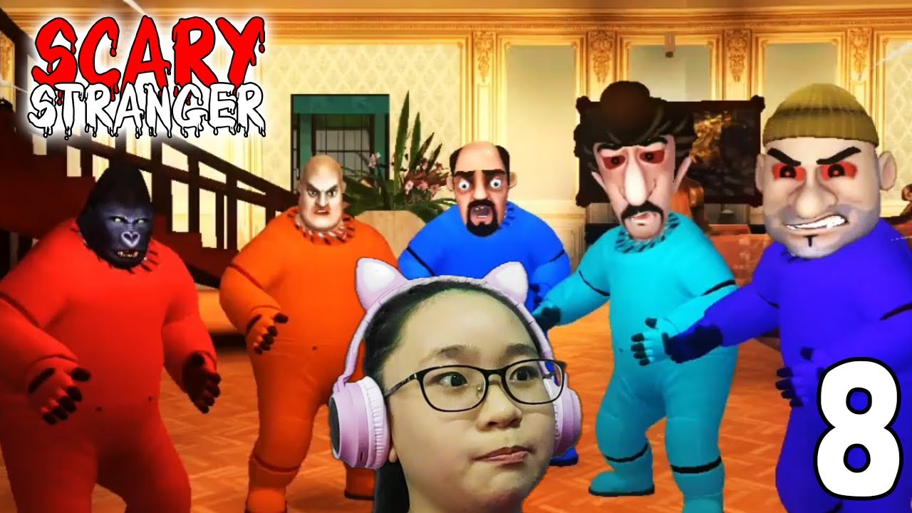 Download Scary Stranger 3D 2021- Imposter vs Imposter  Gameplay Walkthrough Part 8  Let's Play Scary Stranger