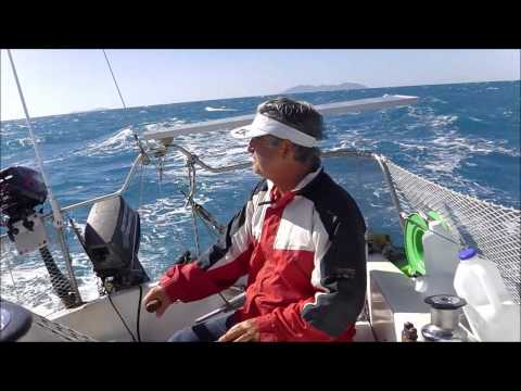Trailer Sailer Brisbane to Whitsundays leg 38 Scawfell to Brampton & Carisle