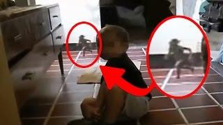 5 SERES EXTRANOS Captados En VIDEO