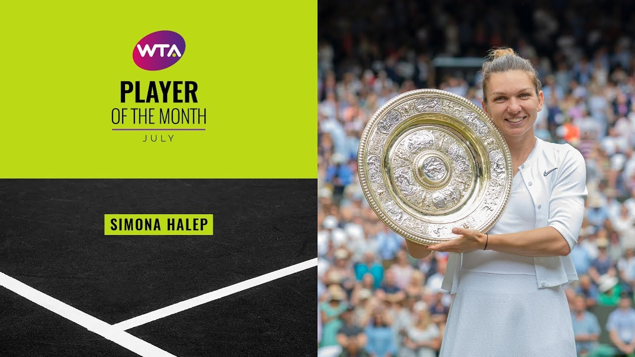 Player of the Month, July 2019 | Simona Halep