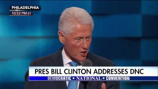 Bill Clinton: Hillary Will Make Us Stronger Together