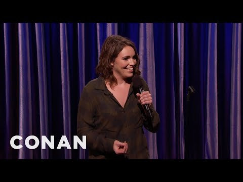 Beth Stelling Is Building Up Her Meat Coat   CONAN on TBS
