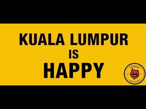 Kuala Lumpur is Happy! (Pharrell Williams - Happy)
