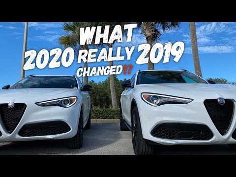 2019 Vs 2020 Alfa Romeo Stelvio Sport RWD Side By Side Comparison