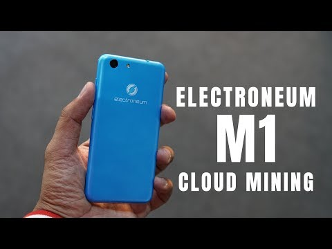Electroneum M1 Cloud Mining Phone Unboxing, Hands-on, Android Go Phone At MWC 2019