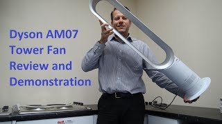 Dyson AM07 Cooling Fan Review and Demonstration