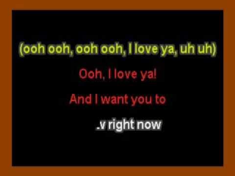 Turn Your Lights Down Low (Bob Marley) karaoke