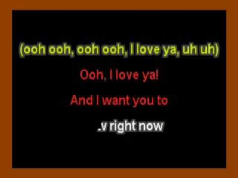 Turn Your Lights Down Low Bob Marley Karaoke Youtube