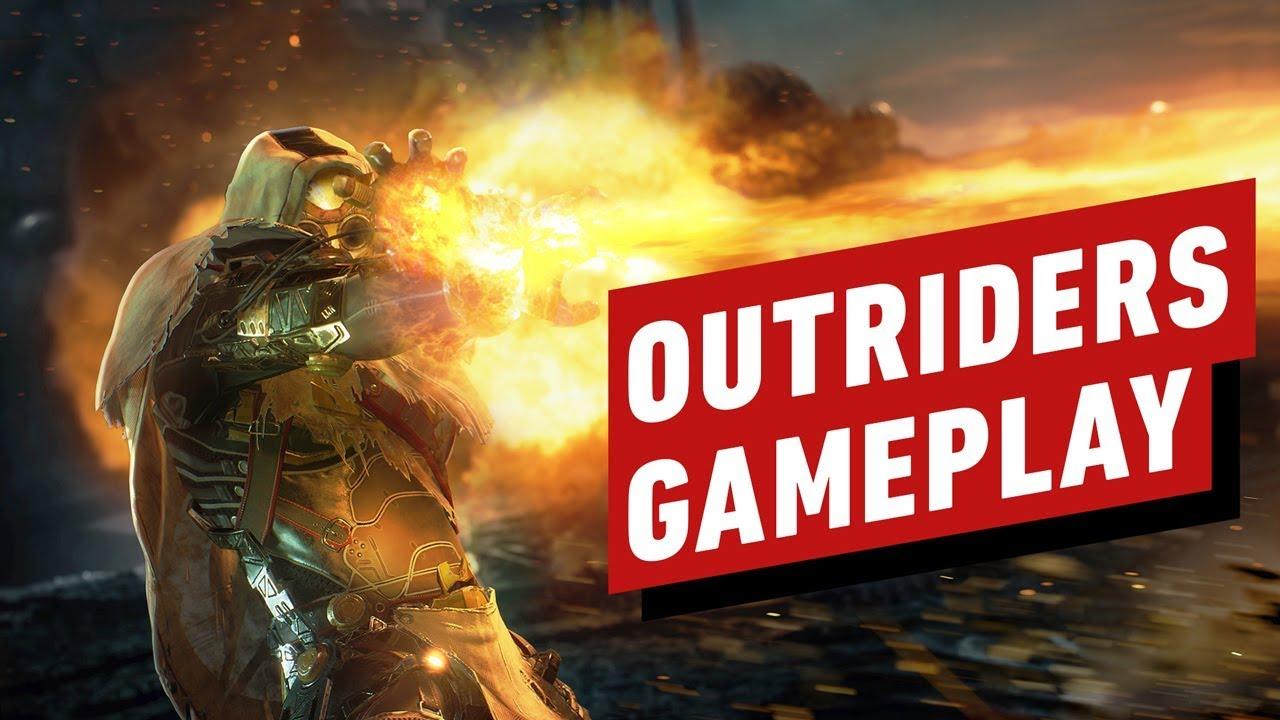 Outriders: 17 minutos de jogo - RPG de tiro cooperativo de última geração para atiradores + vídeo