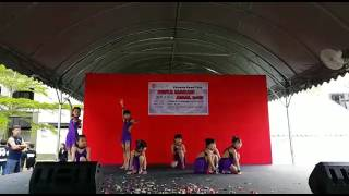 Salsa Dance performance by young kids in Penang