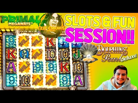 Online Slots Session With Big J! Compilation Of Bonuses & Table Games!