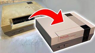 DESTROYED Nintendo NES Restoration and Repair