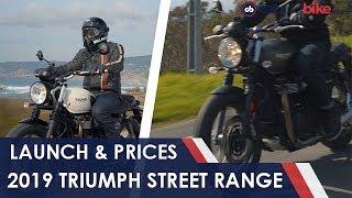 2019 Triumph Street Twin & Street Scrambler Launched   NDTV carandbike