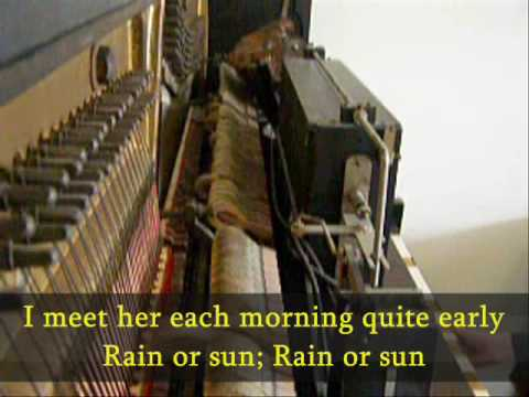 Popular songs from 1890-1902 medley on player piano