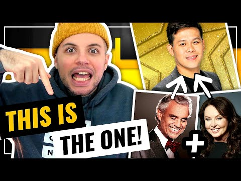 Marcelito Pomoy - Time to Say Goodbye   AGT CHAMPIONS ISN'T READY FOR THIS ONE!   HONEST REACTION