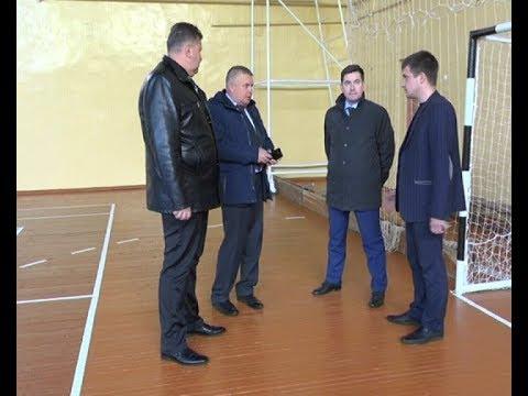 с рабочим визитом в Вятских Полянах побывал и о  министра спорта Кировской области