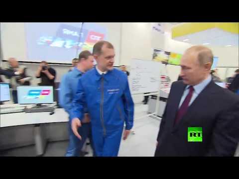بوتين يدشن -يامال- أكبر مشروع للغاز الطبيعي في المنطقة القطبية الشمالية  - 16:22-2017 / 12 / 8