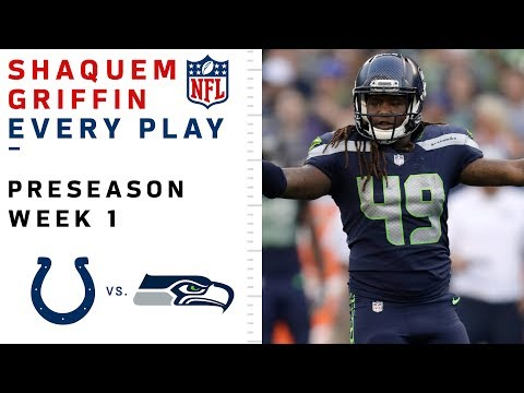 - HIGHLIGHTS: Every Shaquem Griffin tackle vs the Colts