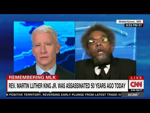 CORNEL WEST FULL EXPLOSIVE ONE-ON-ONE INTERVIEW WITH ANDERSON COOPER (4/4/2018)