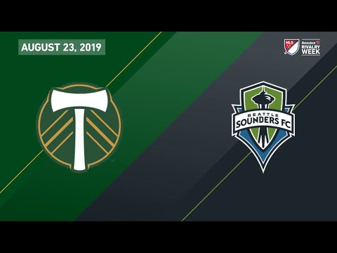 Portland Timbers Vs. Seattle Sounders FC | HIGHLIGHTS - August 23, 2019