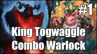 [Hearthstone] King Togwaggle Combo Warlock (Part 1)